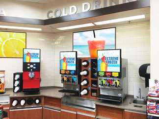How to Increase Foot Traffic with a Frozen Beverage Center