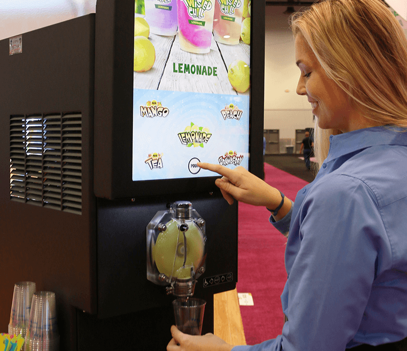 commercial-frozen-drink-machine--easy-to-operate-with-low-maintenance